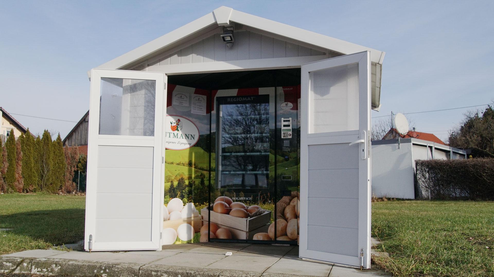 Hofladen + Automat2Verkaufsautomat